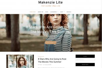 Makenzie Lite – A Dynamic WordPress Theme for Free