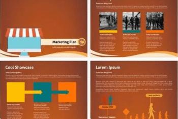 Marketing Plan Keynote Template for Free