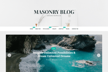 Download Masonry Blog Theme