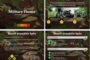 Military Keynote Template for Free
