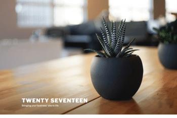 Twenty Seventeen – Free WordPress Theme