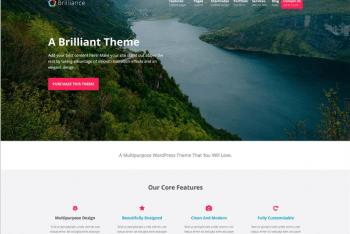 Brilliance Free WordPress Theme Download