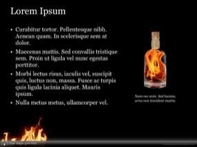 Fire Keynote Template