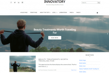 Download Innovatory – Responsive WordPress Blog Theme