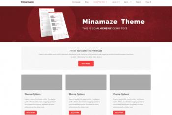 Miniamaze eMagazine WordPress Theme