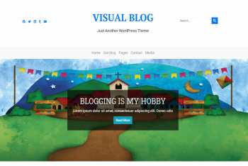 Visual Blog – WordPress Theme for Visual Content