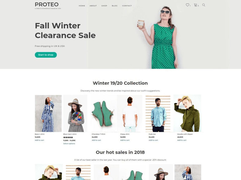 You can cYITH Proteo – WordPress theme.
