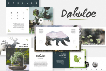Dahuloe Keynote Presentation Template for Free