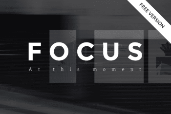 Focus – A Free Keynote Presentation Template