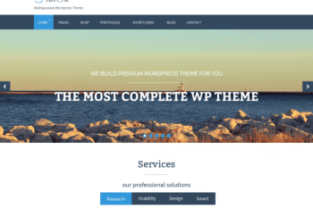 FlatOn – Responisve WordPress Theme