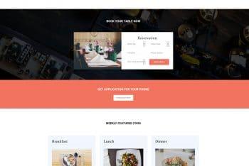 Victory – Food And Restaurant HTML Template