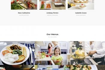 Eatery – HTML Template For Cafe Website Design
