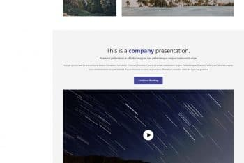 Sentra – HTML Template for Portfolio Website