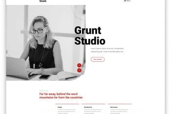 Download Grunt – Creative Agency HTML Template for Free