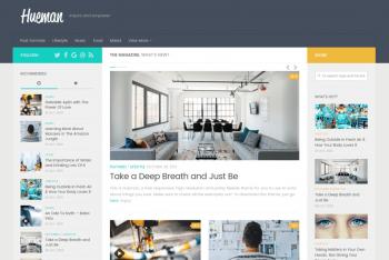 Hueman – WordPress Theme Download for Free