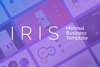 IRIS – Free Keynote Presentation Template