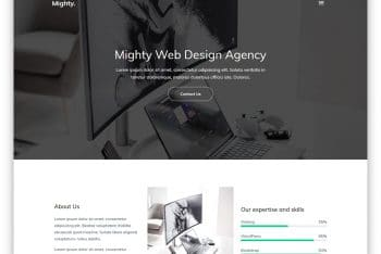 Mighty – Creative Agency Website HTML Template Download