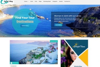 Wishful Travel – WordPress Theme for Travel Websites