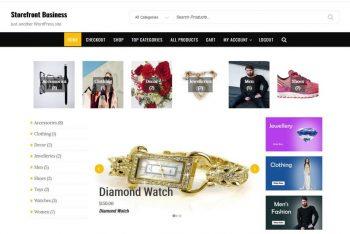 Download Storefront Business – WordPress Theme