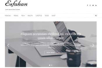 Download Esfahan – WordPress Theme for Your Next Project