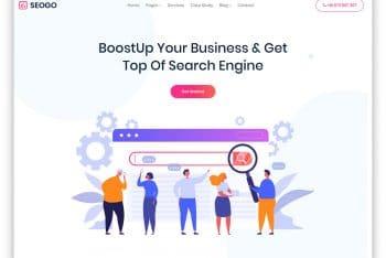 Seogo – Advertising Agency Website HTML Template