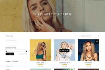 Shop Isle – A Free WordPress Theme