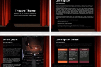 Theatre – A Free Keynote Template