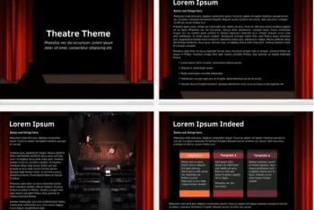 Theatre – A Free Keynote Template