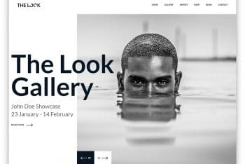 TheLook – Photography Website HTML Template
