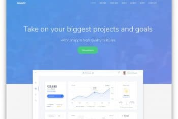 Download Unapp  – HTML Template for Free