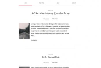 Aniki – Blog Website WordPress Theme