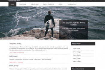 CTravel Adven Lite – Adventure Website WordPress Theme
