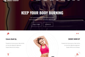Diet Shop – eCommerce WordPress Theme