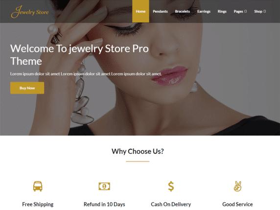Jewelry Store - multipurpose eCommerce WordPress Theme