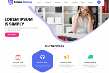 LZ Software Company – Digital Product Website WordPress Theme