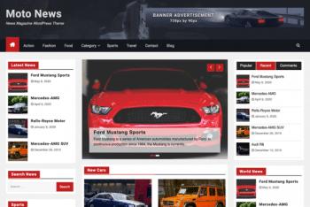 Moto News – News Magazine WordPress Theme