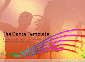 Download Music And Dance Keynote Template for Free