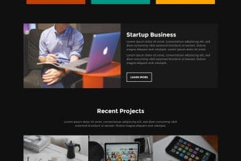 Onetel – Portfolio Website HTML Template