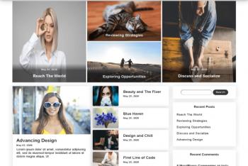 Stylish News – News Magazine WordPress Theme