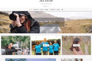 Article Lite – A Free WordPress Theme