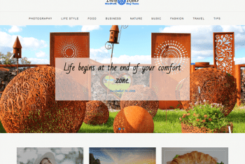 Blog Rider – A Free WordPress Theme