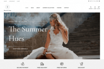 Download Blossom Shop WordPress Theme for Free