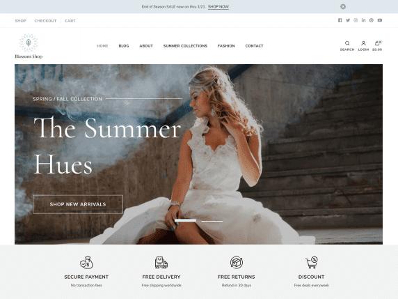 Blossom Shop WordPress Theme