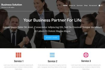 Download Business Solution WordPress Theme for Free