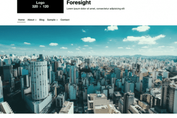 Foresight – Business Website WordPress Theme