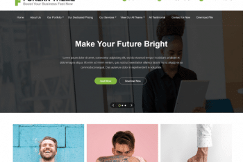 Forexn – A Free WordPress Theme
