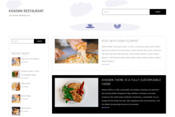 Khaown – A Free WordPress Theme