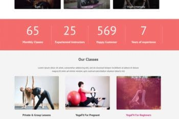 Download GymZone Fitness WordPress Theme for Free
