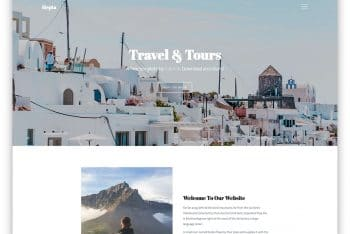 Hepta – Travel Business HTML Template