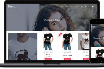 Ibsen – eCommerce WordPress Theme